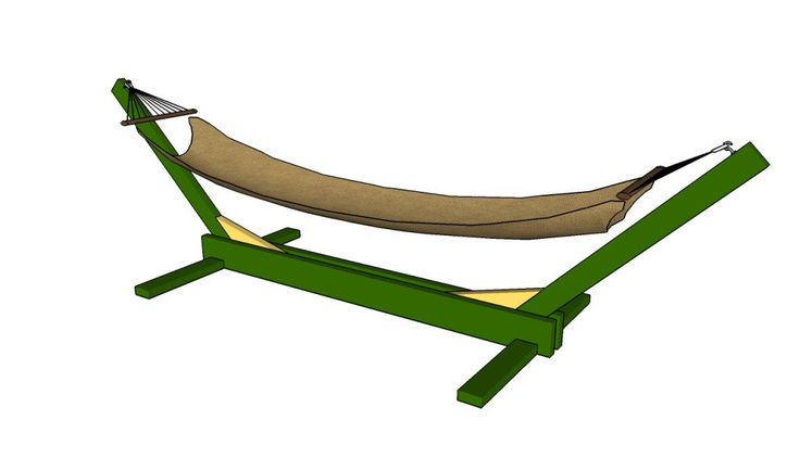 How to build a hammock stand | HowToSpecialist - How to Build, Step by Step DIY Plans