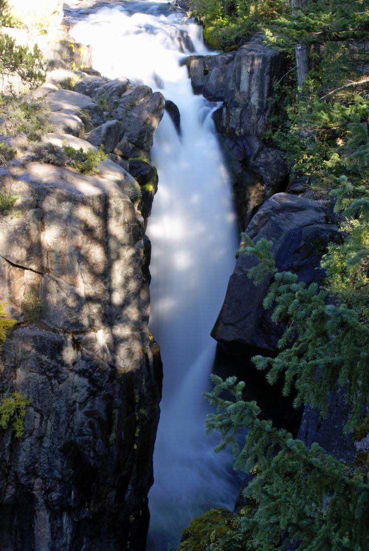 mountains waterfalls forest usa - photo #2