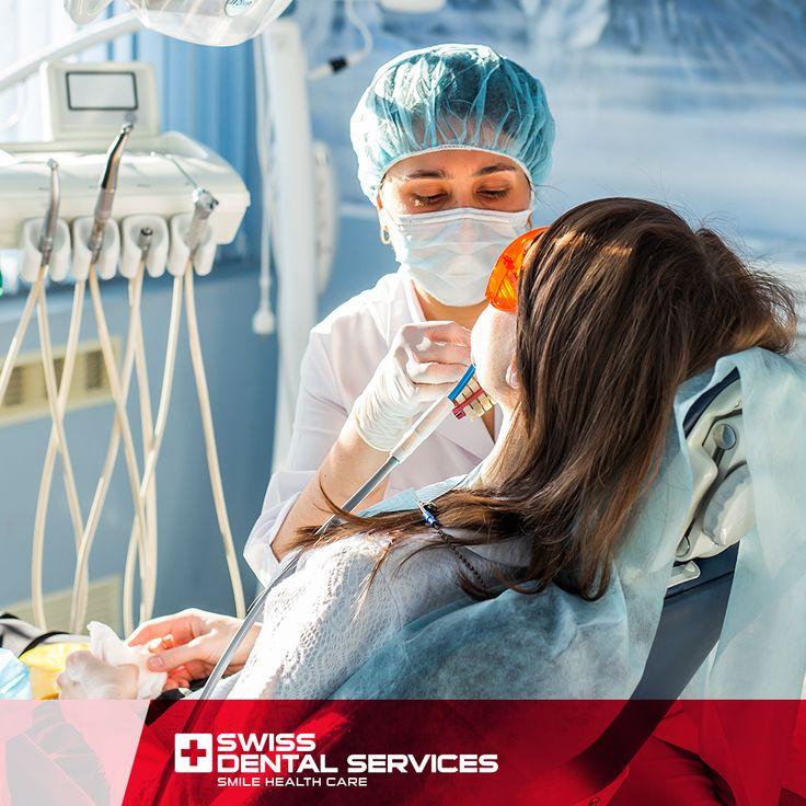 Au cours du processus de Réhabilitation Orale, nous accompagnons chaque patient de manière à ce qu'il se sente chez lui, en clarifiant les doutes qui existent. Faites-nous confiance. Notre équipe est votre équipe !www.swissdentalservices.com