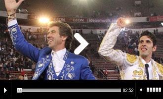 Hermoso y Talavante delumbran en el cierre. México - Mundotoro.com