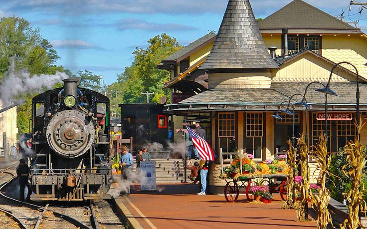New Hope, Pennsylvania - America's Best Towns for Halloween | Travel + Leisure