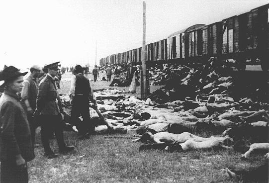 Dos trenes partieron de Iasi, Rumania, el 30 de junio 1941 que lleva a los sobrevivientes del pogrom que tuvo lugar en la ciudad los días 28-29 de junio de 1941. Uno de los trenes viajado a Calarasi, mientras que el otro estaba destinado para Podul Lloaiei. Eran trenes de carga sin ventilación, en pleno verano. Esta evacuación supuso la muerte de cientos de judíos, por agotamiento, calor, asfixia, deshidratación y suicidios dentro de los vagones.