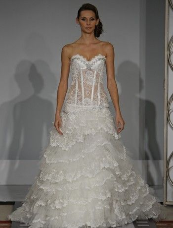 41 best outrageous wedding dresses images on pinterest for Ugly wedding dresses for sale