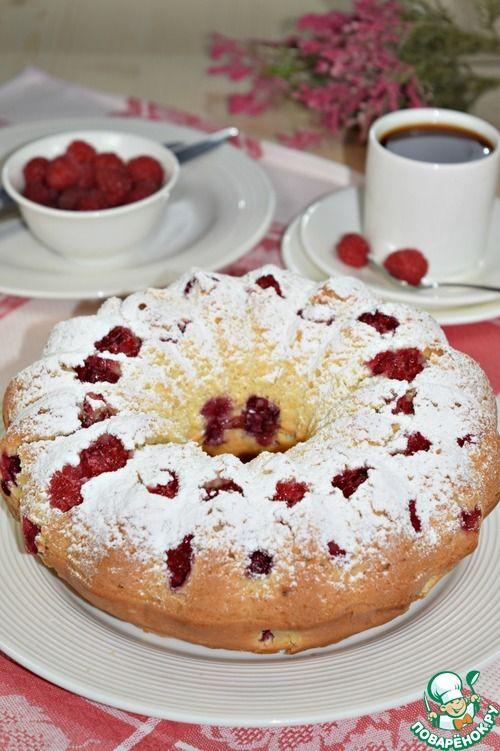 "Кекс ""Ягода-малина"" - кулинарный рецепт"