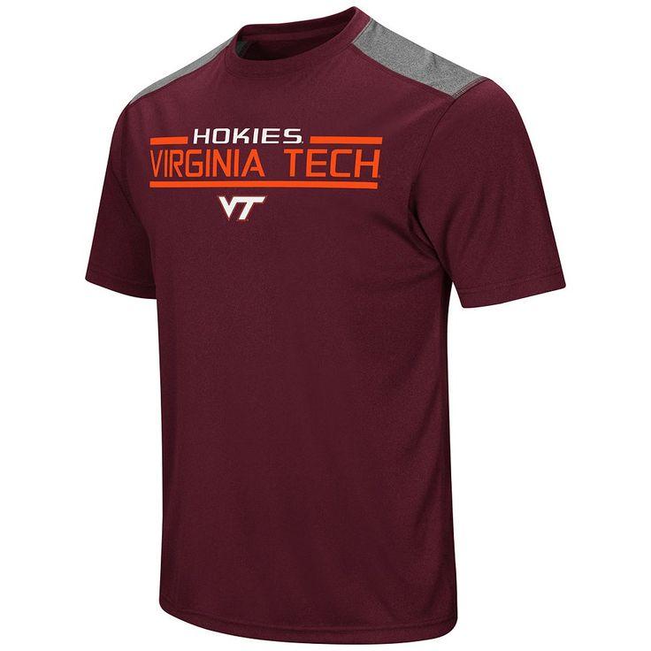 Men's Campus Heritage Virginia Tech Hokies Rival Heathered Tee, Size: Large, Dark Red