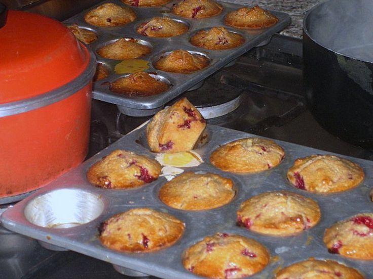 Raspberry Yogurt Muffins Recipe | Food Republic