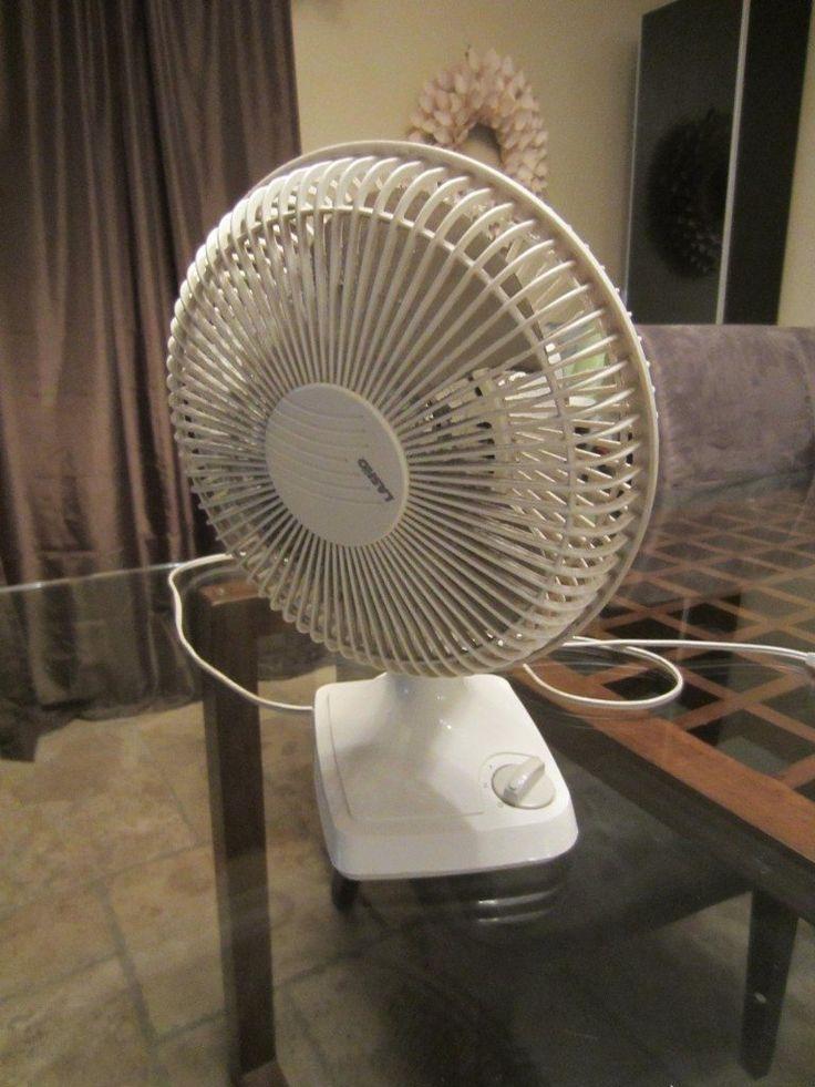 Spray Painted Fan