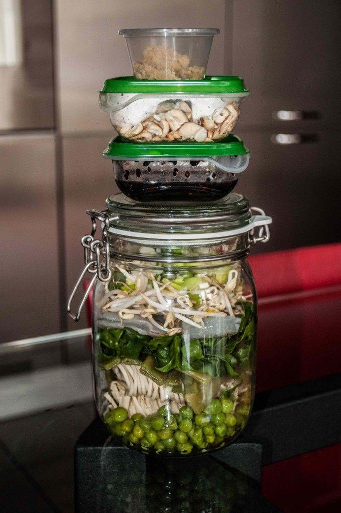 Mangiare Sano in Ufficio - Pranzo in a Jar! Le Ricette di Estetica&Donna - http://www.esteticaedonna.it/mangiare-sano-in-ufficio-pranzo-jar/