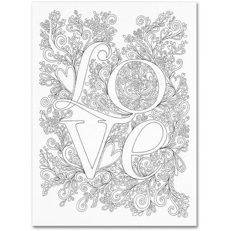 Pin By Franwilliams Fw On Coloring Coloring Canvas Trademark Fine Art Canvas Art