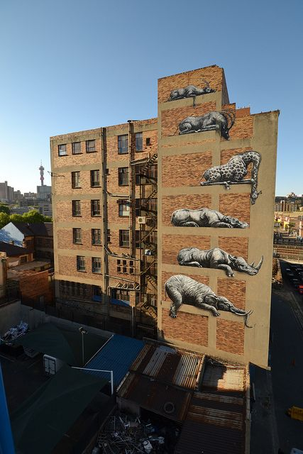 SOUTH AFRICA - Johannesburg by ROA !