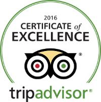 Hotel Vera is honored to be selected as a Trip Advisor 2016 Certificate of Excellence Winner!