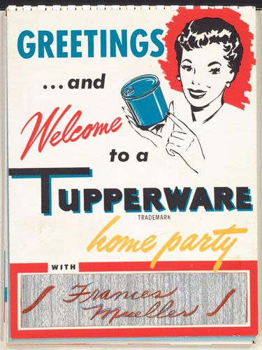 Welcome to a Tupperware Party  @A Lifetime Legacy