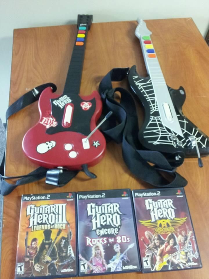 Guitar Hero Games and Guitars