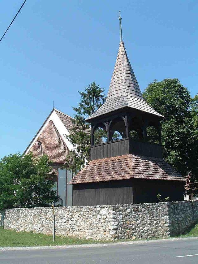 SZALONNA. Árpád-kori templom