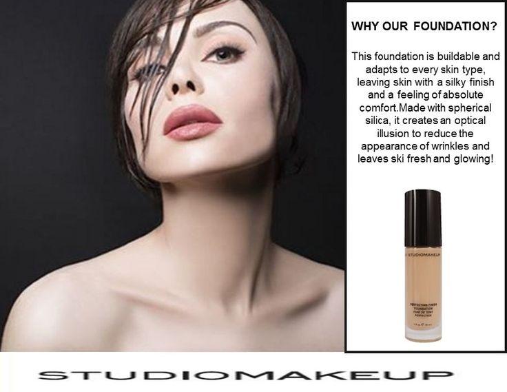 Why Studiomakeup foundation?!  #Studiomakeup  www.studio-make-up.com