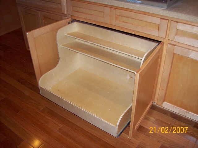 Sliding Trays For Kitchen Cabinets