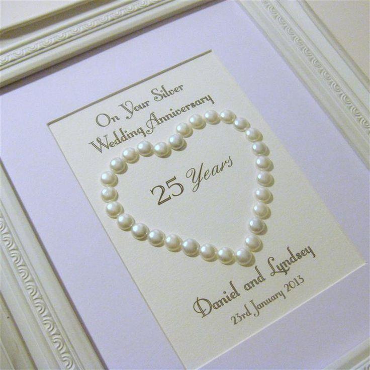 Anniversary pearl heart