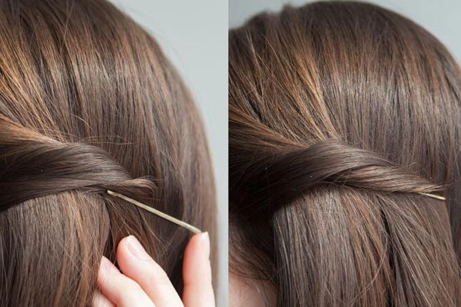 Hairstyles For Short Hair Using Bobby Pins: 25+ Best Ideas About Bobby Pin Curls On Pinterest