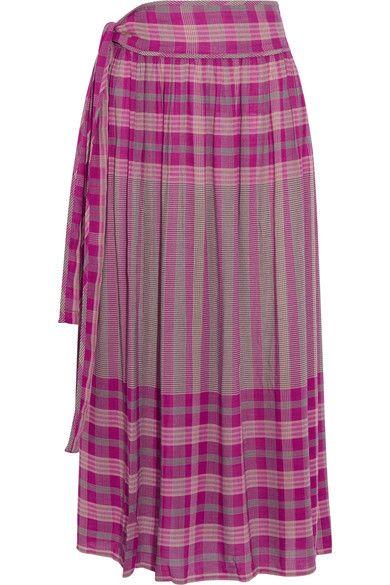 APIECE APART | La Ellisa printed voile skirt | NET-A-PORTER.COM