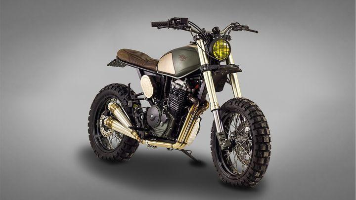 Wow! Honda Dominator NX650 Street Tracker by Ton-Up Garage #motorcycles #streettracker #motos   caferacerpasion.com                                                                                                                                                                                 Más