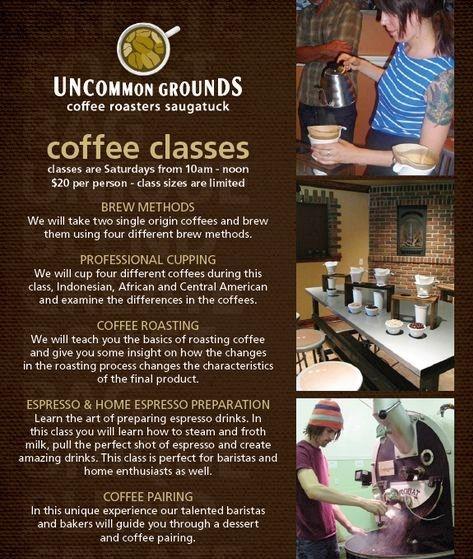 Uncommon Grounds Coffee Classes