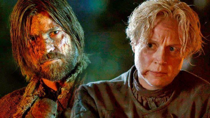 Jaimie y Brienne cautivos | Juego de Tronos 3x04 Español HD