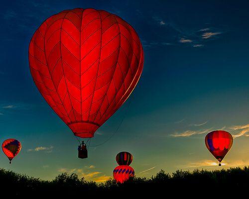 .One Day, Bucketlist, The Colors Red, Buckets Lists, Sky, Hotair, Festivals, Sunris, Hot Air Balloons