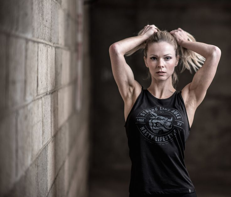 Strong Like Bull Tank by Nasty Lifestyle.  Get yours today!  CrossFit Apparel, Gym Apparel, Fitness Apparel, Womens Lifestyle product,