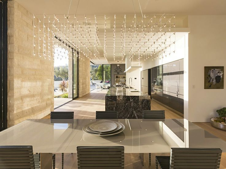 Visually Stunning White Contemporary Home   http://www.designrulz.com/design/2014/05/visually-stunning-white-contemporary-home/