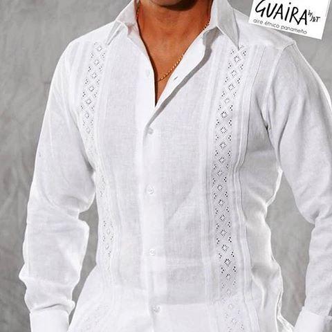 #Repost @guairabyjt with @repostapp ・・・ El color favorito del verano es sin duda el blanco y dentro de nuestro folklore es el color principal de las camisas que utilizan los caballeros! Trabajadas en tela de hilo con variados diseños las confeccionamos a la medida!! ... no dejes de preguntar por nuestras opciones #paraEllos ⌚↩ #hechoalamedida #porpedido #camisillas #talcoalsol #talcoensombra #alforzas #molas #trencillas #caballeros #camisas #PanamáStyle #paraCaballeros #folkloredePanama…