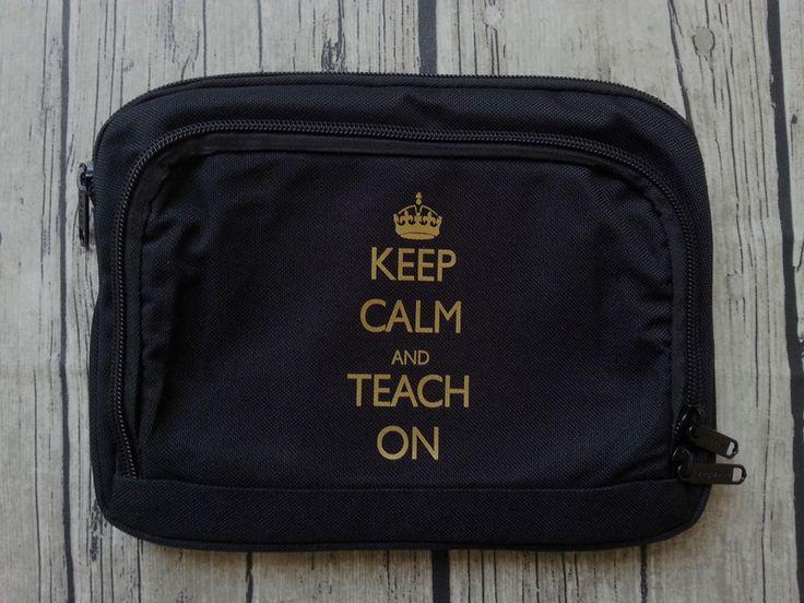 """Hülle """"keep calm & teach on"""" passend für iPad mini von rumpelstielschen - for teachers auf DaWanda.com"""
