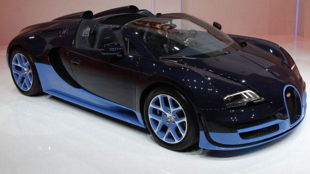 The new Bugatti Veyron Grand Sport Vitesse via theglobeandmail #Bugatti