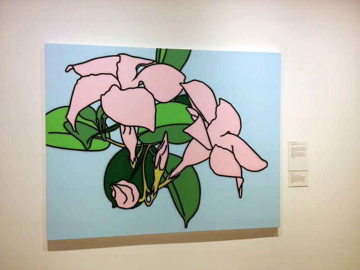 Sulman Prize 2015  Title Flor de Alegría Mandevilla so pink (still life) Medium acrylic on canvas Dimensions 165.5 x 210.5 cm