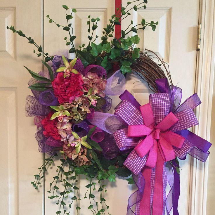 Muttertagskranz #Muttertag #Geschenke #Haus #Dekor #Tür #Dekorat