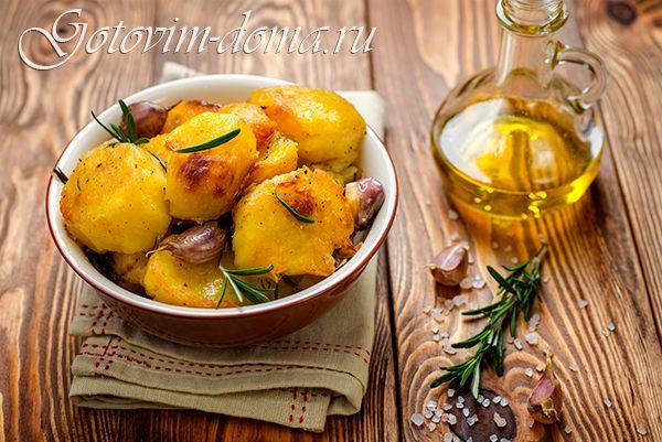 Рецепт: Идеальный запеченый картофель от Дж. Оливера