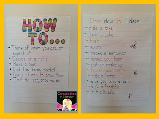I'm just getting ready to start teaching my students procedural writing.  This blog did a great job breaking the concept down into a fun activity. Check it out.