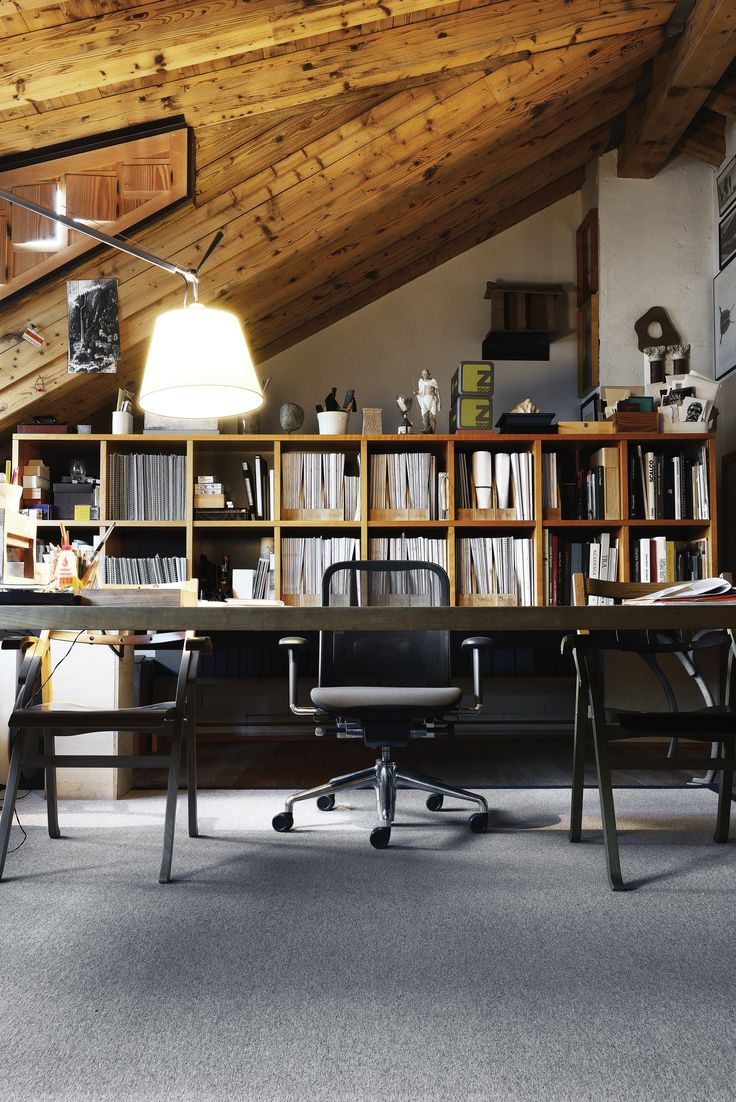 """Norma Collection by Michele De Lucchi """"Designed to ensure that everyone can work in full comfort and experience a feeling of wellbeing during long office hours""""  6 different chairs with more than 200 combinations of finishes"""