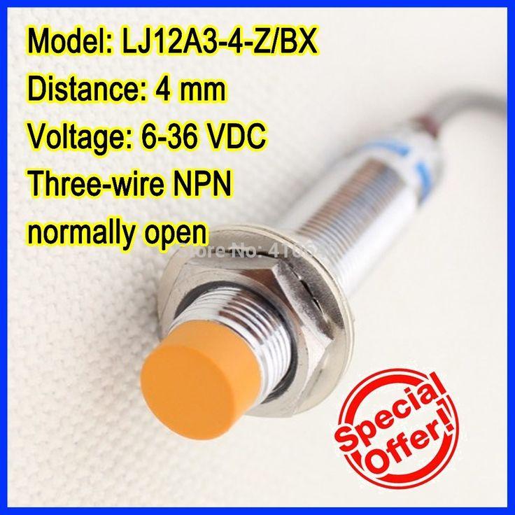 $14.98 (Buy here: https://alitems.com/g/1e8d114494ebda23ff8b16525dc3e8/?i=5&ulp=https%3A%2F%2Fwww.aliexpress.com%2Fitem%2FFree-shipping-GENUINE-OMKQN-brand-LJ12A3-4-Z-BX-4mm-inductive-proximity-switch-three-wire-NPN%2F32318839541.html ) Free shipping!  GENUINE  LJ12A3-4-Z/BX 4mm inductive proximity switch three-wire NPN normally open for just $14.98