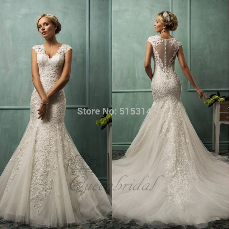 12 best Wedding Dresses - Aliexpress images on Pinterest | Wedding ...