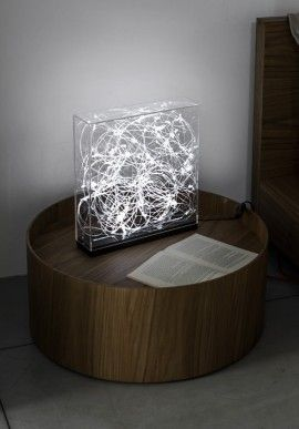 """Table lamp - """"Synapse"""" byClaudio Brunello BUY IT NOW ON www.dezzy.it!"""