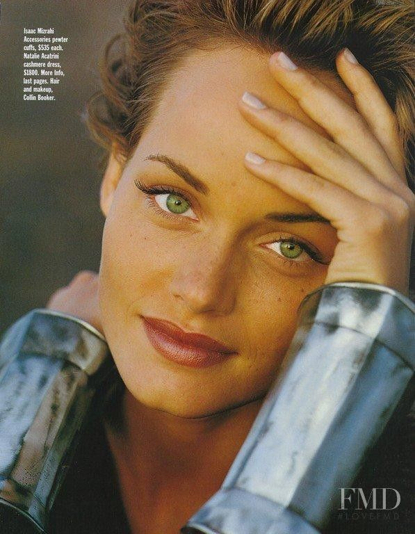 Photo of model Amber Valletta - ID 37856   Models   The FMD #lovefmd