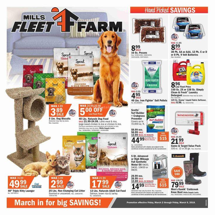 Fleet Farm Weekly Circular March 2 - 9, 2018 - http://www.olcatalog.com/fleet-farm/fleet-farm-weekly-circular.html