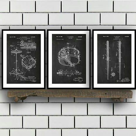 #Repost from @stanleyprinthouse -  Drum Patents Set of 3 Prints, Drum Prints, Drum Posters, Drum Blueprints, Drum Art, Drum Wall Art, Sp316 by STANLEYprintHOUSE #etsy #etsyshop #etsyseller #etsystore #homemade #art #homedecor #giftidea #giftforhim #mancave #gift #gifts #giftideas #christmasgift #design #interiordesign #style #inspiration