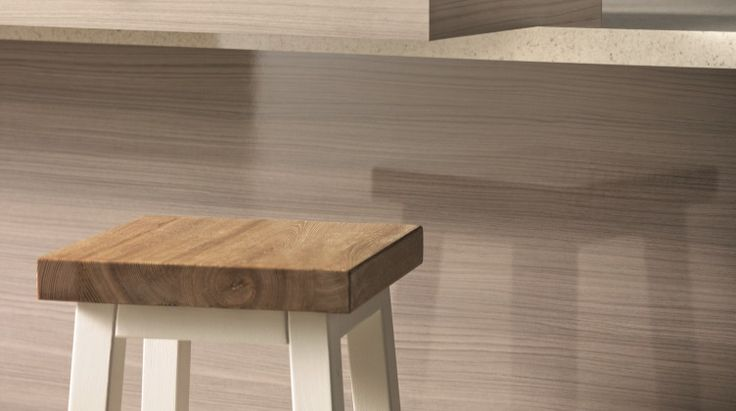Cinnamon Ash Formica Gloss Panels