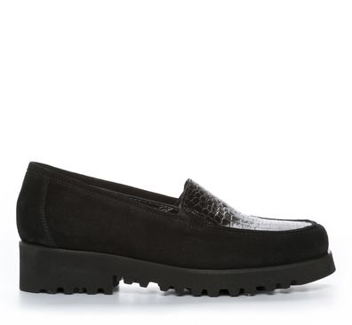 Nilson Shoes Promenadskor Sko Mocka Svart