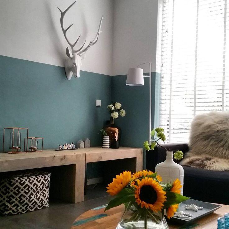 25 beste idee n over badkamer verf kleuren op pinterest slaapkamer verf kleuren badkamer - Plafond geverfd zwart ...