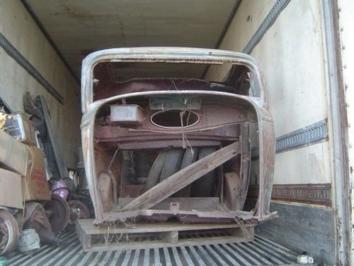 1932-FORD-3-WINDOW-COUPE-PARTS-COLLECTION-ALL-ORIGINAL-STEEL-MANY-EXTRA-PIECES