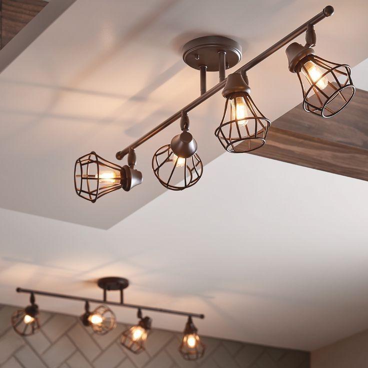 Farmhouse Track Lighting For Kitchen Novocom Top