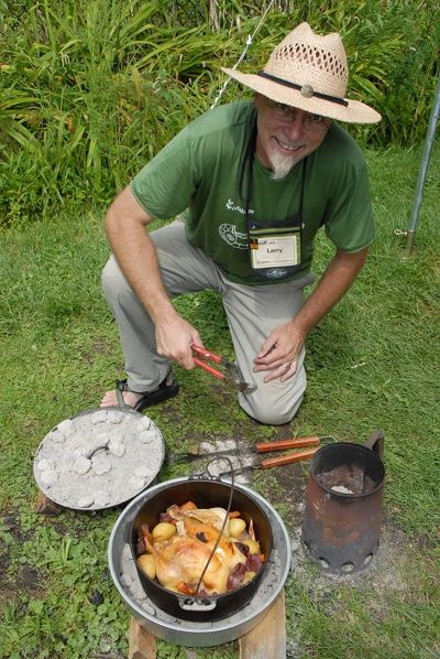 396 best campfire cooking images on pinterest camping for How to cook in a dutch oven over a campfire