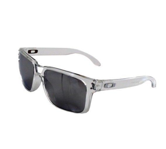 2b8b6ab13ff OAKLEY clear chrome iridium HOLBROOK OO9102 sunglasses AUTHENTIC ...